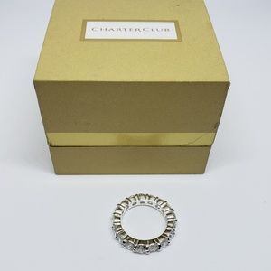Charter Club Ring New in Box Cubic Zirconia Size 5